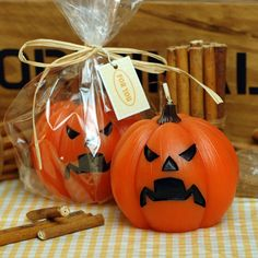 Encontrar Más Velas Información acerca de Los de Halloween calabaza arte vela…