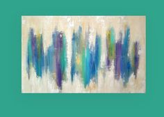 Acrylic Abstract Painting on Gallery Canvas by OraBirenbaumArt, $465.00