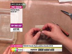 Jewellery Maker Master Class Freindly Plastic - YouTube