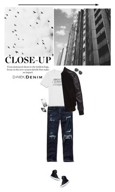 """You're so dark"" by miss-milika ❤ liked on Polyvore featuring Supra, Hollister Co., Yves Saint Laurent, PS Paul Smith, Casetify, Michael Kors, Nixon, men's fashion and menswear"