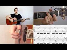 Percussive Slap Technique - Acoustic Guitar Lesson Part 1 - The Basics - YouTube