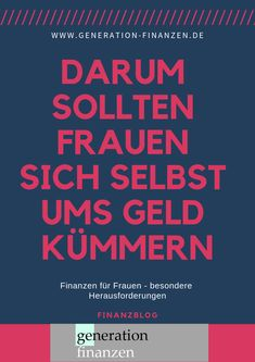 : for – there are special challenges: … - Finanzen Mo Money, Challenge S, Starting A Business, Online Business, Saving Money, Budgeting, Finance, Knowledge, Education