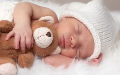 Baby Photography -try this with Daddy's old blue teddy