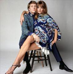 #Sixties   Paul Jones and Jean Shrimpton, stars of Privilege, 1967