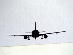 Airplane Personalized Stationery  Note Cards  by fionadesigns, $20.00 - cute diy project