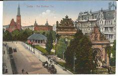 AK Stettin - Am Berliner Tor | eBay