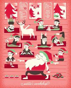 Even Santa Does Yoga!