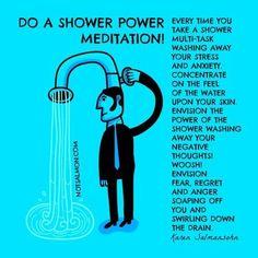 Shower Power Meditation #Spiritualwellness