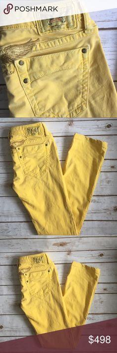 Robin's Jean • Yellow Skinny Jean Robin's Jean • Yellow Skinny Jean Robin's Jean Jeans Skinny