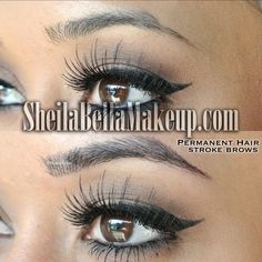 Make it your New Years resolution to get Sheila Bella brows! You'll be glad you did! Eyelashes, Eyebrows, Semi Permanent Makeup, Eyebrow Tattoo, Naturally Beautiful, Makeup Yourself, Hair Color, Eyeshadow, Make Up