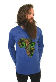 Long Sleeve Africa Tee (other colors available) More info on website #ShopAyo