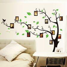 Family Photo Frame Tree Removable Wall Sticker Decal Mural DIYBedroom Home Decor