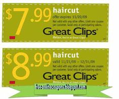Looking for a cheap hair cut at Great Clips, then you should consider using a coupon! Find out details of where to find Great Clips coupons here. Kfc Coupons, Grocery Coupons, Online Coupons, Print Coupons, Discount Coupons, Free Printable Coupons, Free Printables, Great Clips Haircut