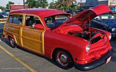 Custom 1951 Ford Station Wagon