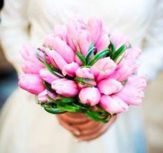 Bukiety ślubne - tulipany-8