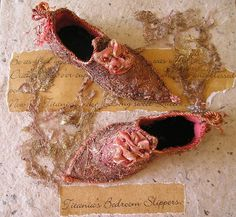 Fairy Shoes Pattern by AnnetteEmms on Etsy, $13.00