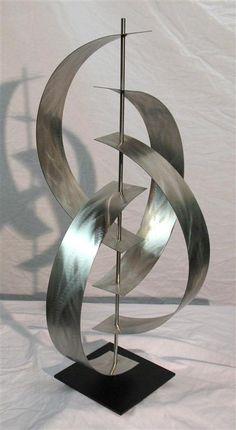 Modern Metal Art Stainless Steel Outdoor Sculpture G77