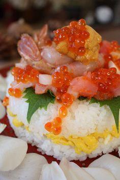 寿司ケーキ Sushi Cake Recipe
