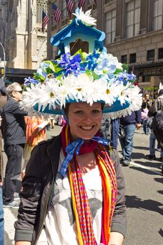 2012 NYC Easter Parade.  by non-objective