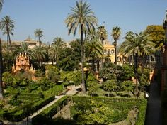 The view from atop the Sevilla's Real Alcazar -- The Royal Palace.