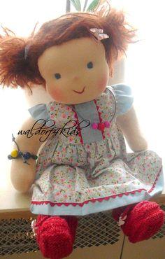 MIA 15 inch waldorf doll girl Ready for by LittleWonders4u on Etsy, $100.00