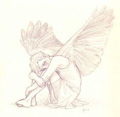 Wings growing in..