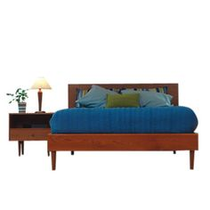 Asher Queen Bed at SmartFurniture.com