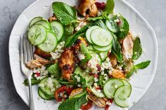 Maple and Paprika Roasted Chicken Salad