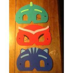 Antifaces Pj Masks Heroes En Pijamas. - $ 20,00