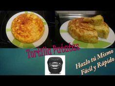 Riquisima Tortilla de Patatas en  Multicooker MK708810!!!!