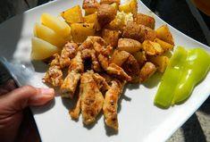 Chicken Wings, Chicken Recipes, Pork, Meat, Ethnic Recipes, Kale Stir Fry, Pork Chops, Buffalo Wings