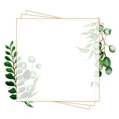 Beautiful Watercolor Leaves Frame Vector and PNG Paint Splash Background, Flower Background Wallpaper, Frame Background, Flower Backgrounds, Watercolor Background, Wallpaper Backgrounds, Tropical Background, Watercolor Leaves, Simple Watercolor