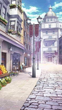 Street Background, Scenery Background, Landscape Background, Cartoon Background, Background Pictures, Episode Interactive Backgrounds, Episode Backgrounds, Anime Backgrounds Wallpapers, Anime Scenery Wallpaper