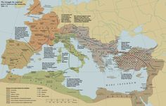 Collapse of the Tetrarchy. Extension of the civil war in 308-313.