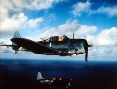 Douglas SBD Dauntless dive bombers from the USS Yorktown