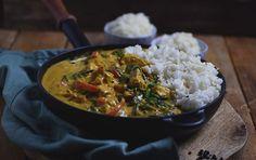 Chicken-Spinat-Curry: Soulfood leicht gemacht ⋆ Knusperstübchen