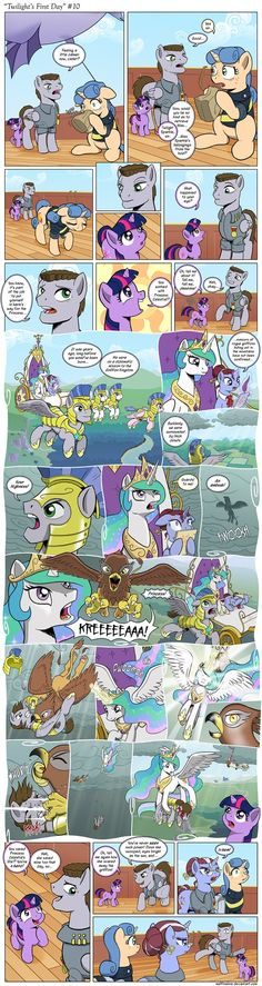 Comic - Twilight's First Day #10 by muffinshire on deviantART