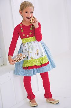 From CWDkids: Holiday Apron Outfit