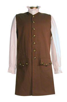 Men's Pirate Waistcoat by White Pavilion Clothiers - Perfect for Renaissance Festivals, Costume Parties, Theater Groups & Re-enactors.