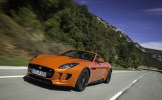 Sexy new Jaguar F-Type sports car has a top speed of 186mph