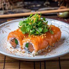 Gordon Ramsey's Sushi Rolls