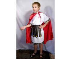 Sz 10 Saint Martin of Tours Roman Soldier Costume For All Saints Day