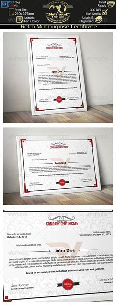 Buy Simple Multipurpose Certificate 01 by on GraphicRiver. This smart and Clean Simple Multipurpose Certificate template can used for all purpose Certificate of Appreciation , . Stationery Printing, Stationery Templates, Stationery Design, Star Template, Letter Templates, Print Templates, Certificate Of Appreciation, Certificate Of Achievement, Certificate Design