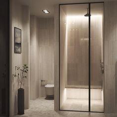 Master Bathroom Project apartment F Modern Vintage Bathroom, Modern Bathroom Tile, Bathroom Tile Designs, Concrete Bathroom, White Bathrooms, Luxury Bathrooms, Master Bathrooms, Dream Bathrooms, Minimalist Bathroom Furniture