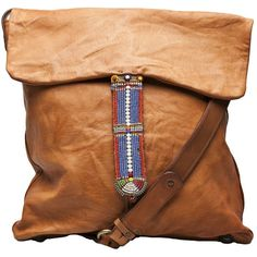 Diana Garreau Masaai Messenger Bag