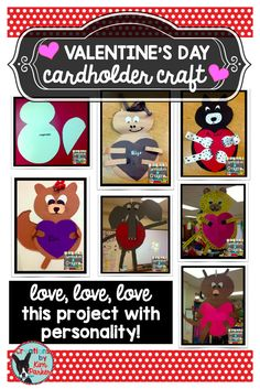 "Looking for a class Valentine Holder project? These are super cute and fun for the kids- you can turn your class into a ""Valentine ZOO!- read all about it in this blog post!"