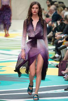 Burberry Prorsum Primavera/Verano 2015 Semana de la Moda de Londres ….. Burberry Prorsum Spring/Summer 2015 London Fashion Week