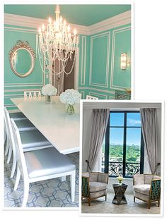 The Tiffany Suite of the St. Regis in NYC.
