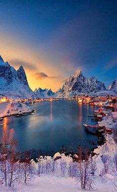 Reine, Norway - I would get married right here