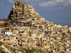 Cave Dwellings of Cappadocia, Turkey Wallpaper